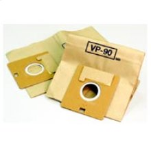 Cannister Vacuum Cleaner Bags with 2-Ply Filter System