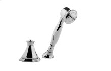 Topaz Deck-Mounted Handshower & Diverter Set