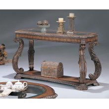 Garroway Traditional Occasional Sofa Table
