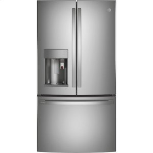 GEGE Profile™ Series ENERGY STAR® 22.1 Cu. Ft. Smart Counter-Depth Fingerprint Resistant French-Door Refrigerator with Keurig® K-Cup® Brewing System