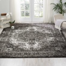 Aria Ar005 Charcoal Rectangle Rug 7'10'' X 10'