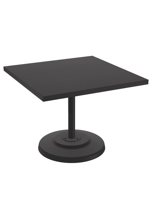 "Ion 36"" Square KD Pedestal Dining Table"