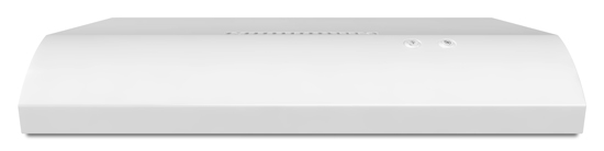 30-Inch Non-Vented Under-Cabinet Hood - white