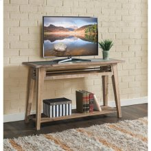 Rowan - Sofa Table - Rough-hewn Gray Finish