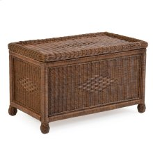 Large Wicker Large Trunk Coffee Bean 3791