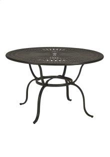 "Spectrum 49"" Round KD Counter Umbrella Table"