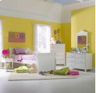 Lauren 5pc Full Sleigh Bedroom Suite Product Image