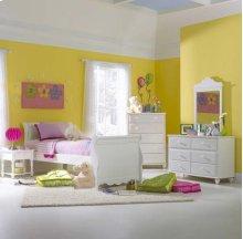 Lauren 5pc Full Sleigh Bedroom Suite