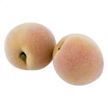 Jumbo White Peach Pack of 2