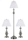 New Hope - 3-Pack - 2 Table Lamps, 1 Floor Lamp