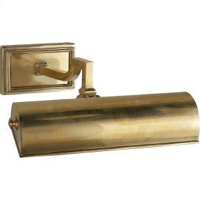Visual Comfort AH2700NB Alexa Hampton Dean 40 watt 11 inch Natural Brass Picture Light Wall Light