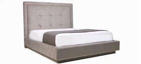 Alonzo Queen bed, wide base no dust
