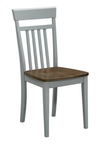 Dining Chair (2/Carton) - Gray Finish Product Image