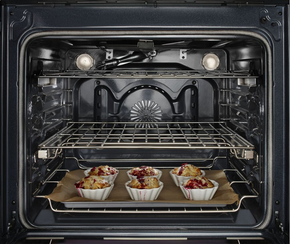 30-Inch 5-Burner Dual Fuel Convection Slide-In Range with Baking Drawer - Stainless Steel Photo #3