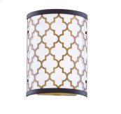 Crest 2-Light Wall Sconce