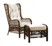 Bora Bora 2 PC Occasional Chair w/ottoman and cushions Product Image