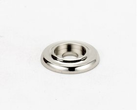 Traditional Backplate A615-34 - Polished Nickel