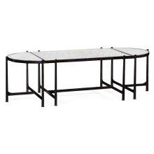 glomise & Bronze Iron Bunching Tables
