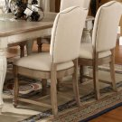Coventry Two Tone - Upholstered Side Chair - Weathered Driftwood Finish Product Image