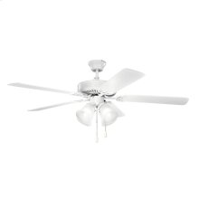 "52"" Basics Premier Collection 52"" Basics Premier Ceiling Fan MWH"