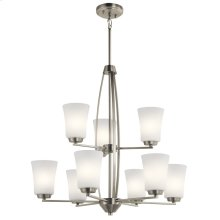 Tao Collection Tao 9 Light Chandelier NI