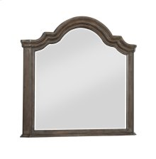 Emerald Home B553-24 Knoll Hill Mirror, Walnut Brown