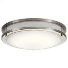 "Avon Collection Avon 14.00"" LED Flush Mount NI Product Image"