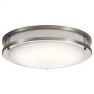 "Avon Collection Avon 14.00"" LED Flush Mount NI Product Image"