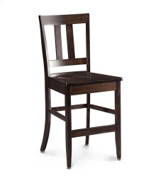 "Harvest Stationary Barstool, 30""h, 30"" Seat Height"