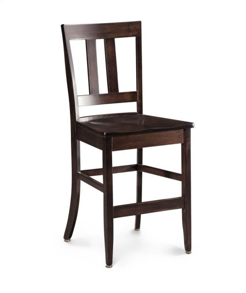 "Harvest Stationary Barstool, 30""h, 30"" Seat Height"