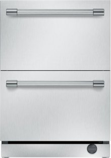 "24"" UNDER-COUNTER DOUBLE DRAWER REFRIGERATOR/FREEZER T24UC920DS"