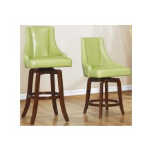 Pub Height Chair, Green