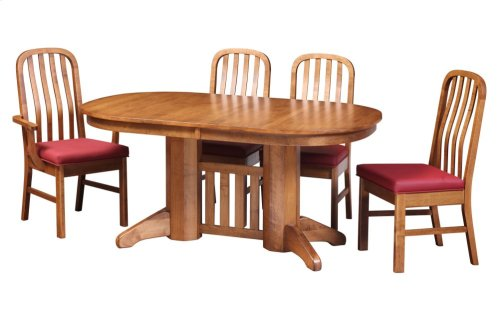 "42/64-2-12"" Trestle Table"