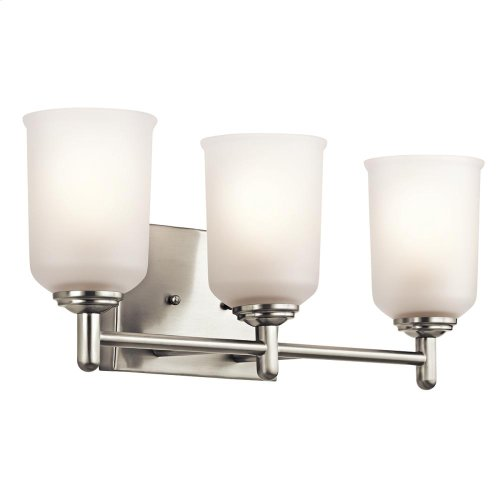 Shailene Collection Shailene 3 Light Bath Light CH