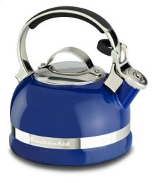 2.0-Quart Stove Top Kettle with Full Stainless Steel Handle - Doulton Blue