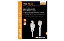 High Performance Micro USB Cable - Refurbished - 1.5 feet / A to Micro B