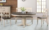 PEDESTAL DINING TABLE