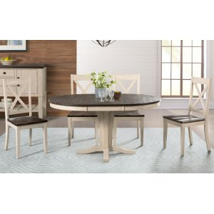 A AmericaPEDESTAL DINING TABLE