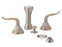 RIBBON & REED Four Hole Bidet Set K4137 - Polished Brass