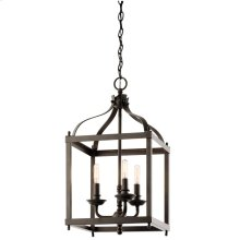 Larkin Collection Larkin 3 Light Foyer Chandelier - Olde Bronze