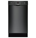 18' Special Application Recessed Handle Dishwasher 300 Series- Black