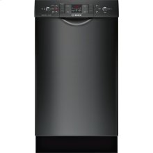 "18"" Special Application Recessed Handle Dishwasher 300 Series- Black"
