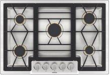 200 series Gas cooktop Stainless steel Width 78.8 cm
