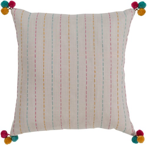 "Dhaka DH-004 22"" x 22"" Pillow Shell with Polyester Insert"