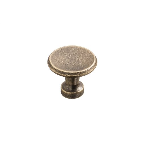 "1 1/16"" Knob - Distressed Antique Brass"