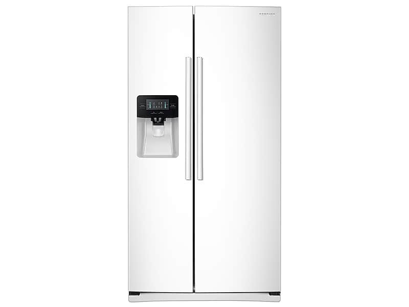 Samsung25 Cu. Ft. Side-By-Side Refrigerator With Led Lighting In White