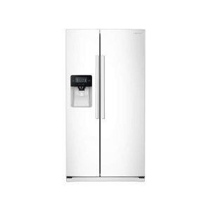 Samsung Appliances25 cu. ft. Side-by-Side Refrigerator with LED Lighting in White