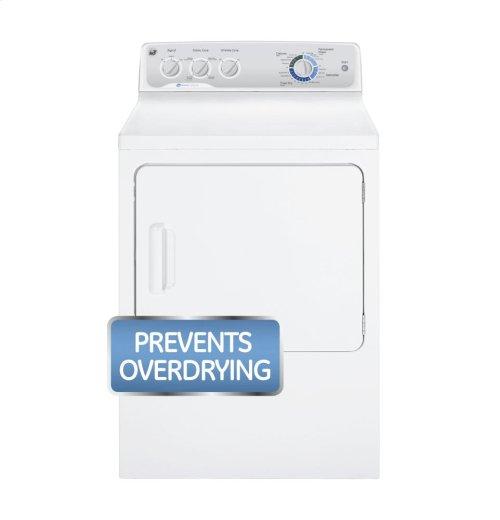 GE® 7.0 cu. ft. capacity Dura Drum gas dryer with HE SensorDry™