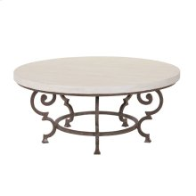 Hemingway Florentine Round Cocktail Table