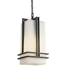 Tremillo Collection Outdoor Pendant 1Lt Fluorescent BK